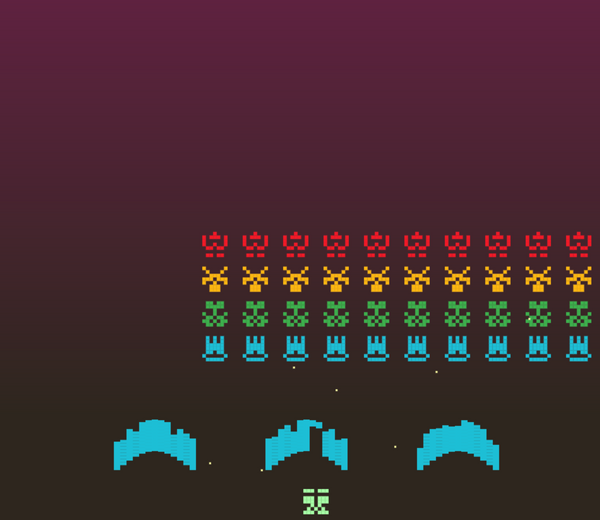 Space Invaders Released